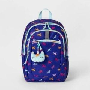 "17"" Unicorn Kids' Backpack Dark Blue - Cat & Jack™"